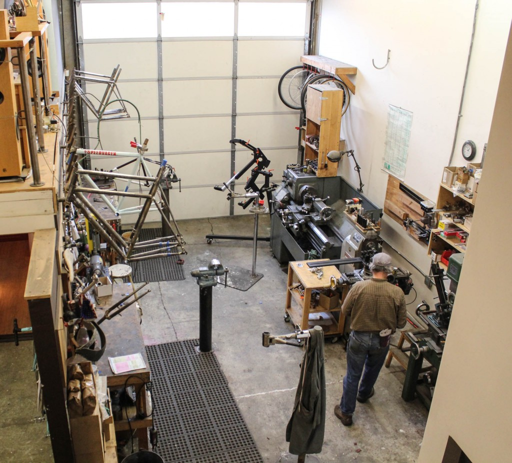 Every ounce of space is used at the Workshop, which means that everywhere you look you see something cool.