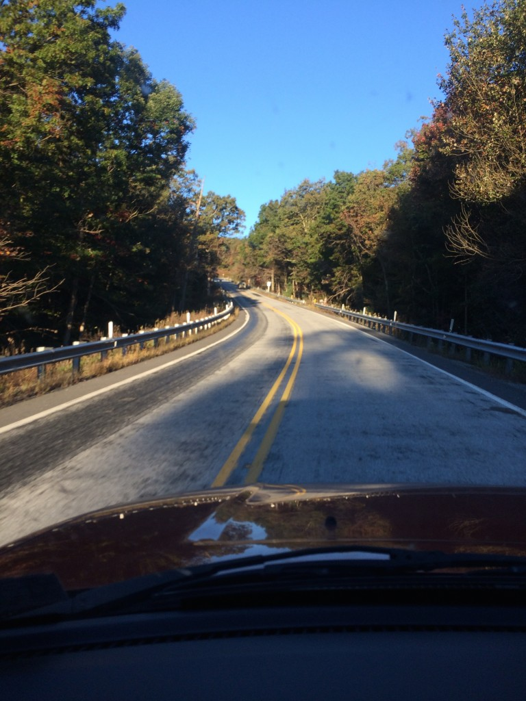 Enroute to ICX - PA Rt 233 West of Pine Grove Furnace State Park