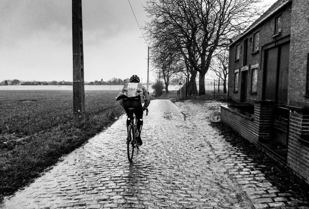 My first ever real cobbles. They were more awesome and challenging that I had anticipated. I love cobbles! Jered had a few great tips on how to ride them. The best tip? The faster you go the smoother they are.