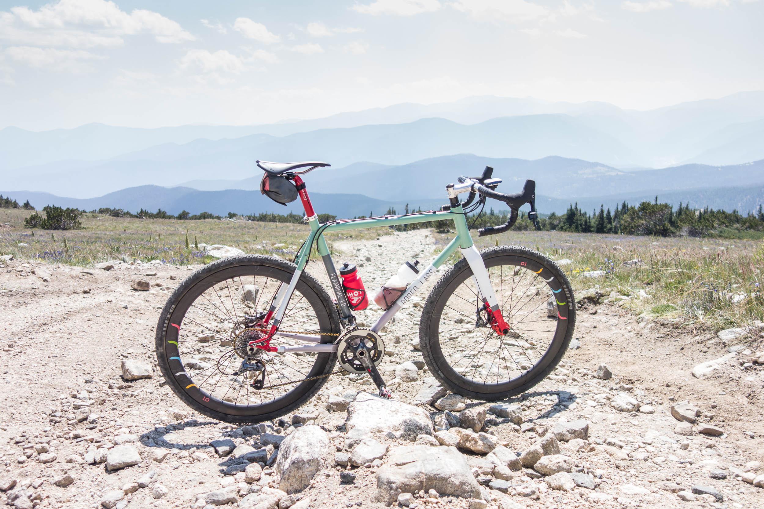 Flaanimal 1.0 in Advenure Bike spec near Rollins Pass, CO