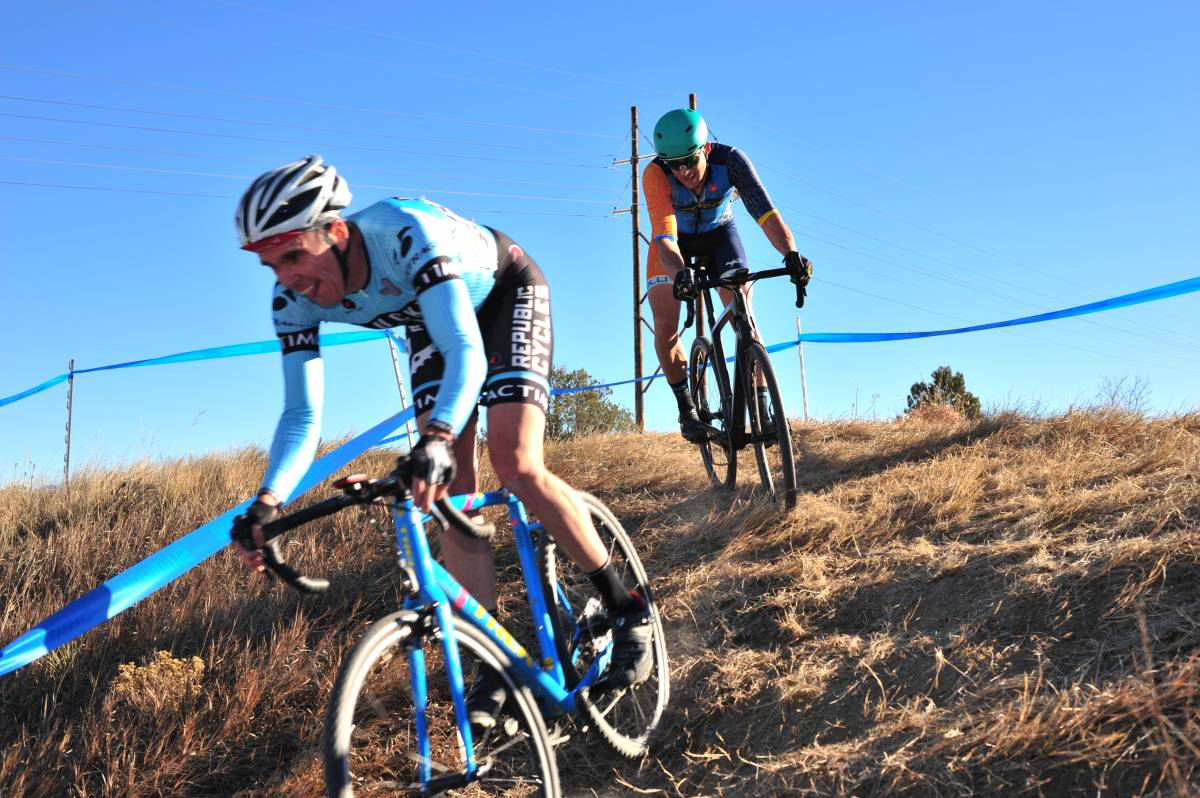 Colorado Cyclocross Champioships. M40 Cat 3. Wet Bear Photo