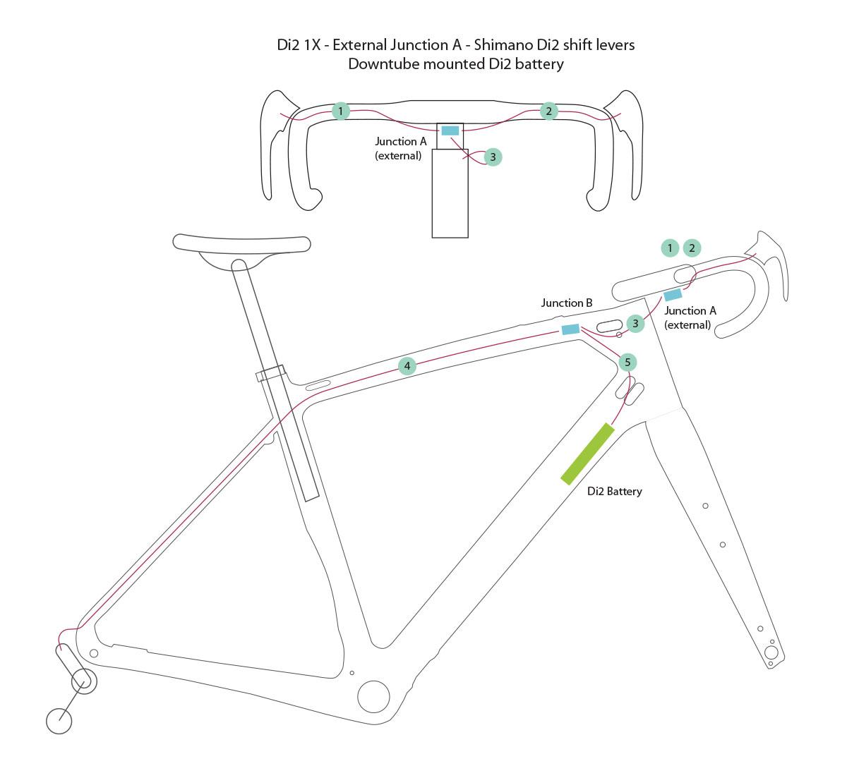 Shimano Di2 Internal Wiring Diagram  Bb30 Diagram, Shimano Ultegra