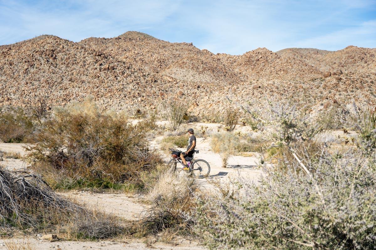 Q in Death Valley
