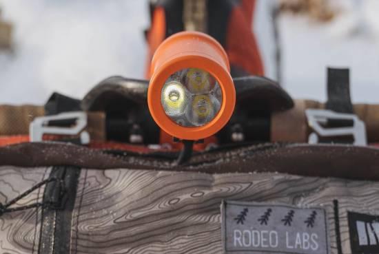 Atlas Mountain Race Traildonkey 3.0 bikepacking setup Sinewave Beacon